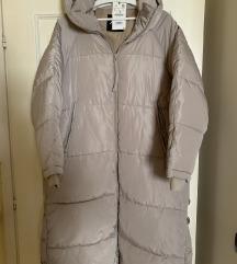NOVO Zara ekstra dugačka zimska puffer jakna/kaput