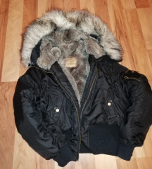 Crna kraca jakna