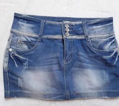 Mini teksas suknja M/L