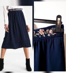 RezzMint&Berry midi suknja