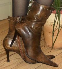 Talijanske original Basic Vero Cuoio  Kozne cizme