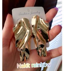 🖤Minđuše zlatne boje