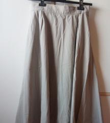 Široka suknja, lepršava - A kroj
