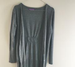 Sivi Kardigan / Dugački džemper NOVO