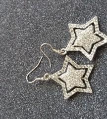 Srebrne mindjuse u obliku zvezde