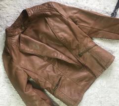 STRADIVARIUS kozna jakna