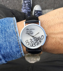 Always late crni