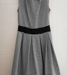 Crno bela haljinica
