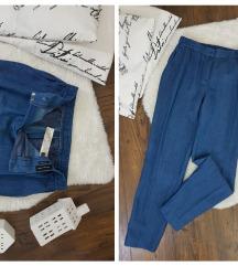 Massimo Dutti * 38 * lanene pantalone NOVO