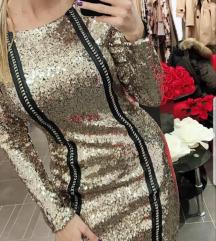 novogodisnja haljina bordo akcijaaa