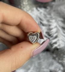 PANDORA privezak srca sa cirkonima