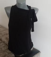 Crna atraktivna majica, pamuk, S/M
