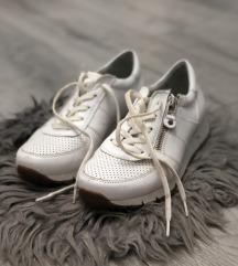 Bele kožne patike (kao nove) ☁️🍂