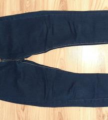 High waist indigo farmerke m/l