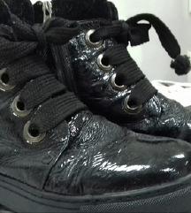 bajkerske kozne cizme cipele