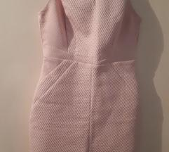 Oasis London puder roze haljina