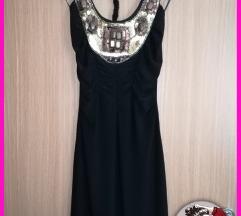 Crna elegantna letnja haljinica