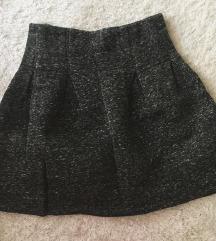 Crna i siva suknjica