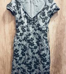 Siva letnja haljina