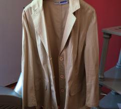 Prolecna jaknica ,krem boje