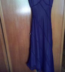 Maxi ljubicasta haljina XS/S