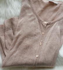 Rozikast džemper sa dugmićima, NOV