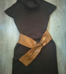 Braon tunika haljina