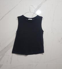 ⓈⒶⓁⒺ Zara organic cotton crna majica