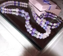 Ogrlica od Ahata, poludragog kamena