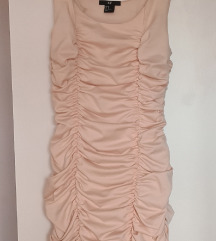 Puder roza H&M pushup haljina