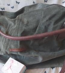 Kozna torba SHANTEL zelena