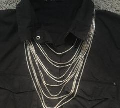 Dugacka metalna ogrlica
