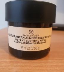 The Body Shop Almond milk with oats maska za lice