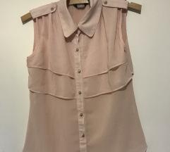 Puder roze bluza