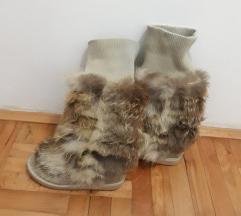 Cizme sa prirodnim krznom