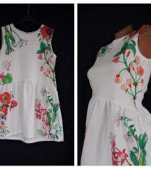 ZARA GIRLS ★ bela cvetna haljinica 13/14 god
