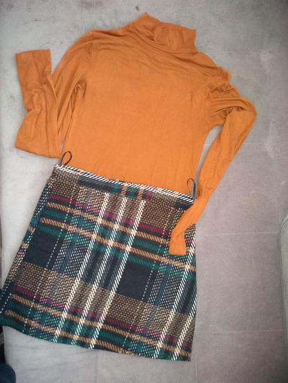 Stradivarius rolka i suknja