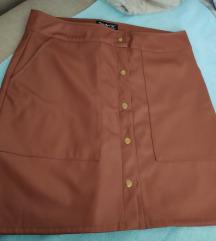Extera kozna suknja