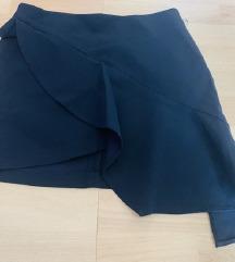 Zara mini crna suknjica
