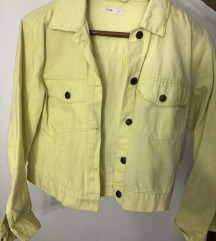 Zuta teksas jakna