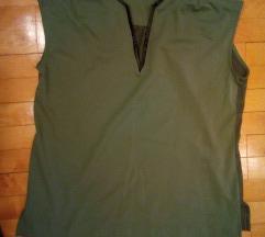 Gas majica bluza siva L