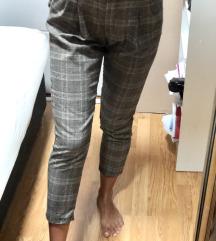 Sivo-bele casual pantalone