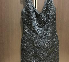 POPUST Crna elegantna haljina