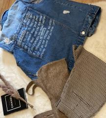 Jeans prsluk 1000!!!!