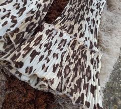 Leopard print kosulja sa karnerima