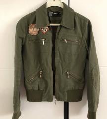 Zelena bomber jakna S/M
