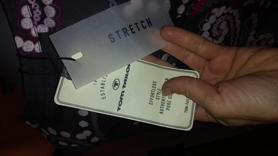 TOM TAILOR haljina 36 novo/etiketa