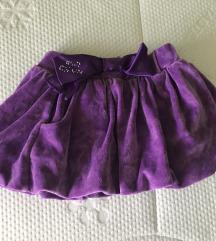 Suknja za devojcice No -No, 116/122