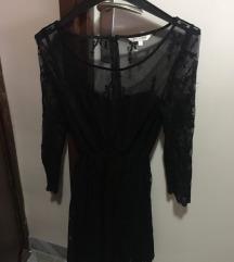 Čipkana crna haljina review