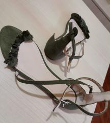 H&M ravne sandalice KAO NOVE  *snizene 1200